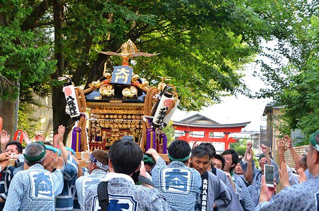 「大門八坂神社祭礼」